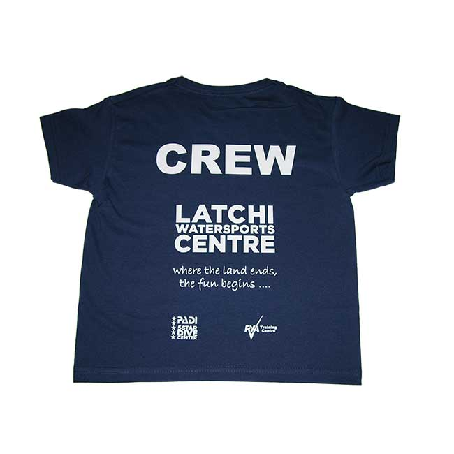 Latchi Watersports Navy Blue T-Shirt