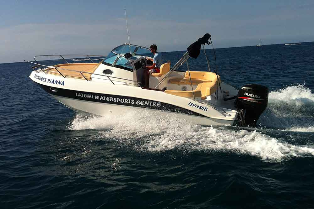 Marinello 26 - 250HP, Cabin Latchi Watersports Centre, Cyprus