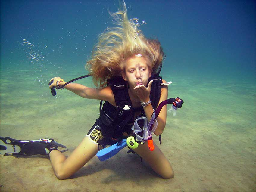 Start Diving in Cyprus, with Discover Scuba Diving, Bubble Maker, PADI Scuba Diver, PADI Open Water