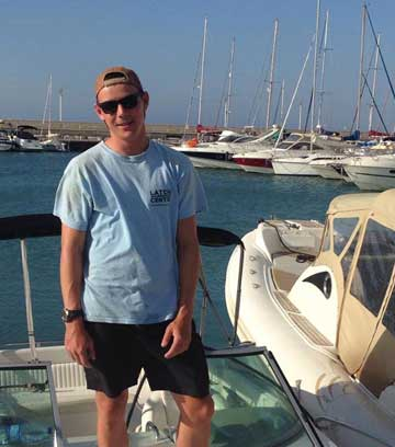 Chris Maleham - Latchi Watersports Centre, Cyprus