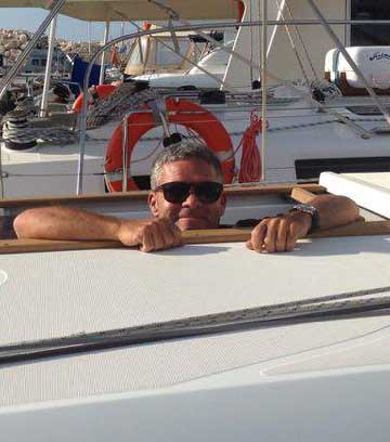 Dave Irvine - Latchi Watersports Centre, Cyprus