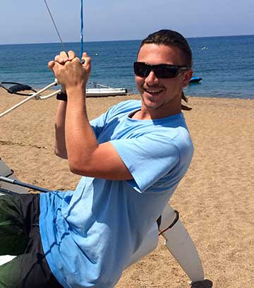 James Compton - Latchi Watersports Centre, Cyprus