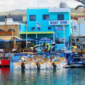 Latchi Marina, Cyprus with Latchi Watersports Centre