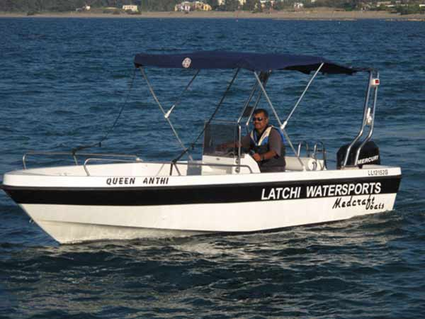 Boat Hire in Latchi, Paphos - Amathunta 50hp and 60hp from Latchi Watersports Centre