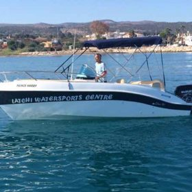 Boat Hire in Latchi, Paphos - Marinello 20 115hp from Latchi Watersports Centre