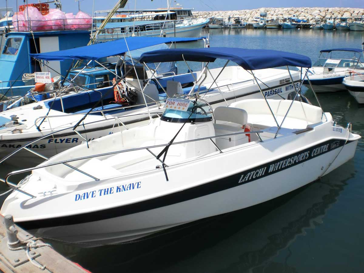 Marinello 22 - Paphos Region Boat Hire Latchi Watersports Centre
