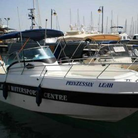 Boat Hire in Latchi, Paphos - Marinello 26 225hp and 250hp from Latchi Watersports Centre