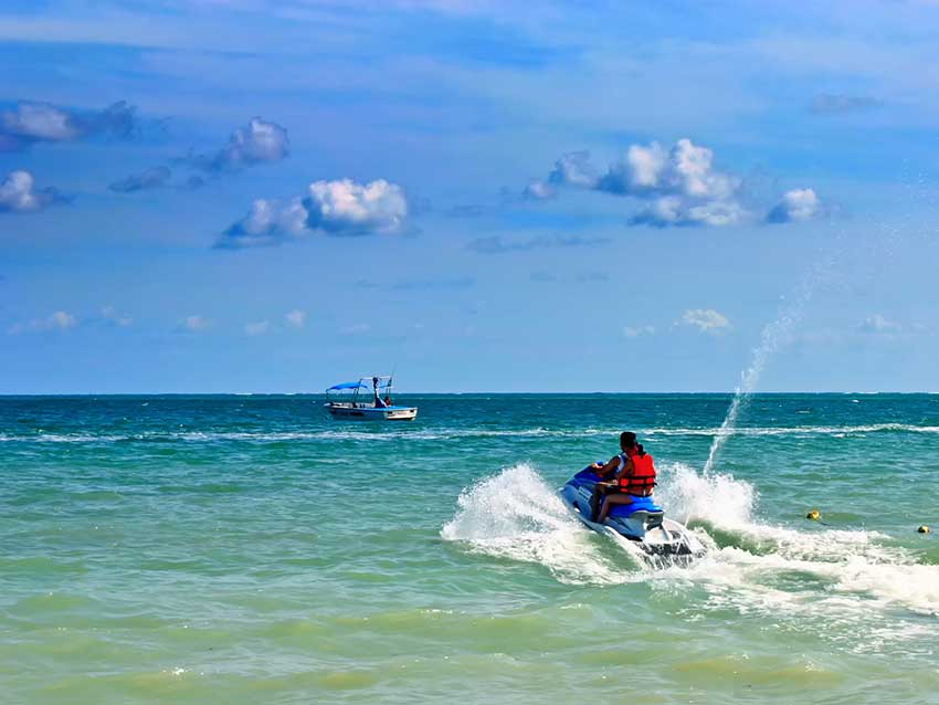 Latchi Watersports Jet Ski Island Adventure