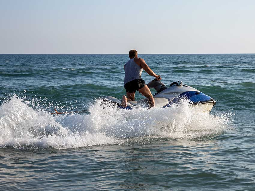 Latchi Watersports Jet Ski Morning Ridezone