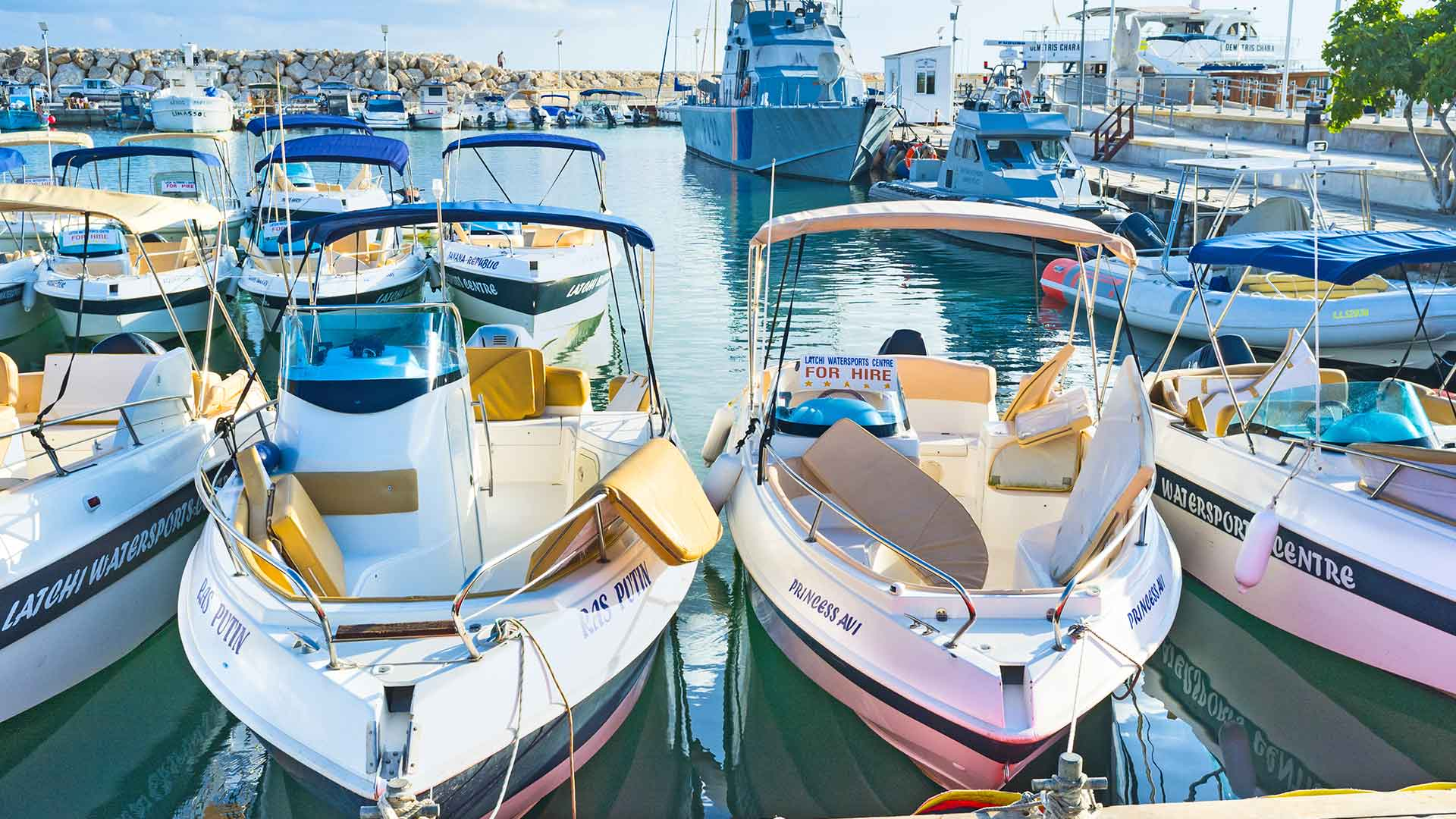 Latchi Watersports centre - Self Drive Boat Hire in Cyprus