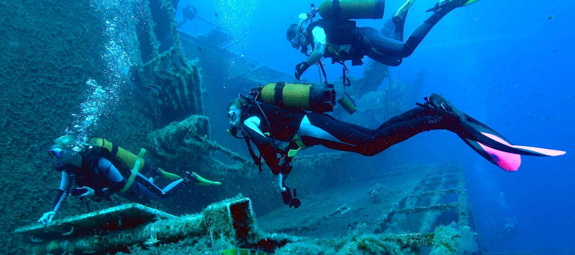Diving in Cyprus, Zenobia Wreck with Latchi Watersports Centre