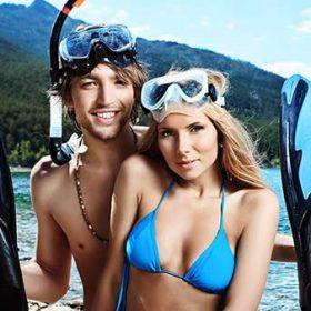 latchi watersports snorkelling equipment