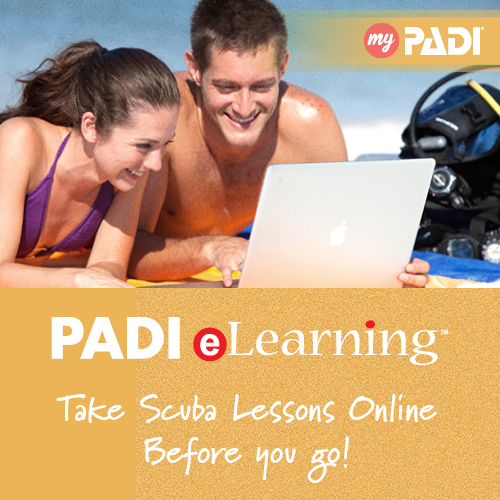 PADI eLearning with Latchi Dive Centre Cyprus
