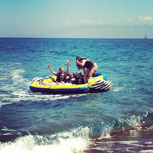 Banana & Tube Rides with Latchi Watersports Centre, Cyprus
