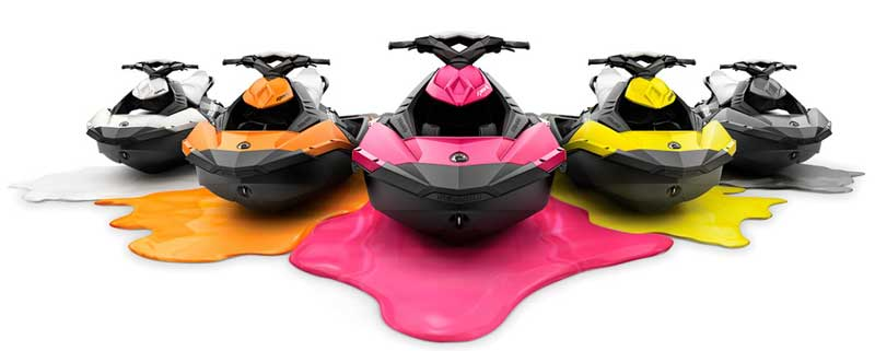 seadoo spark at Latchi watersports Centre, Cyprus