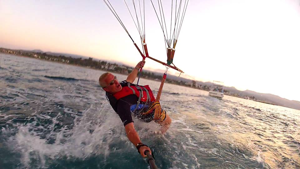 Parasailing Half Term Activities in Cyprus 2018