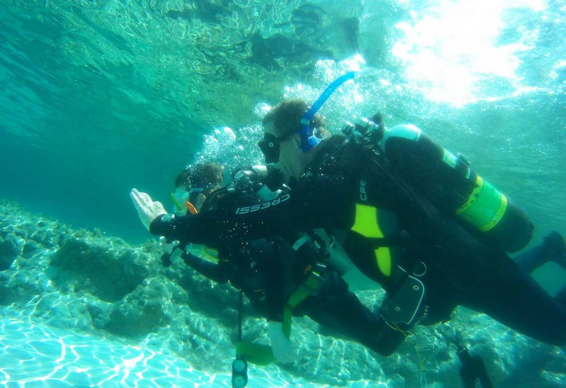 Discover Scuba Diving in the Blue Lagoon with Latchi Dive Centre
