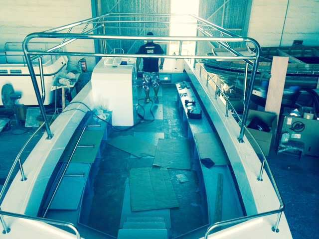 Latchi Watersports (Latchi Dive Centre) Dive Boat