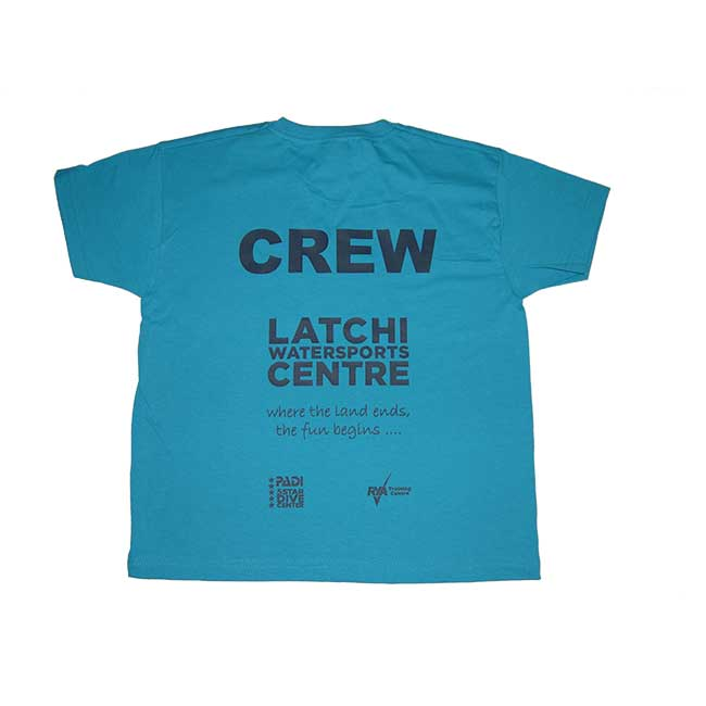 Latchi Watersports Turquoise T-Shirt