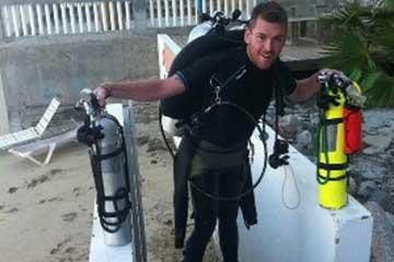 Steve Harte, PADI Master Scuba Diver Trainer - Latchi Dive Centre