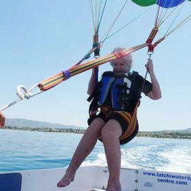 Parasailing in cyprus with Latchi Watersports Centre
