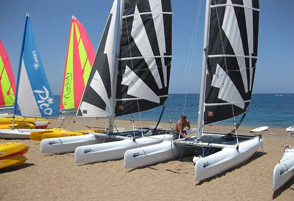 Sailing, Windsurfing in cyprus with Latchi Watersports Centre
