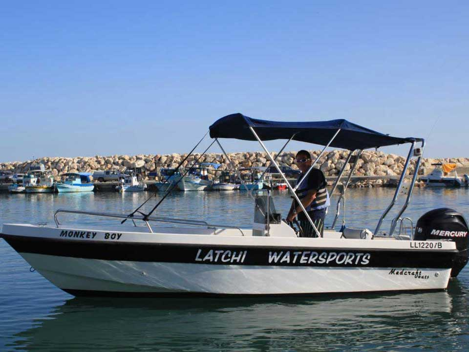 Monkey Boy Amathunta 80hp Cyprus Boat Sales, Latchi