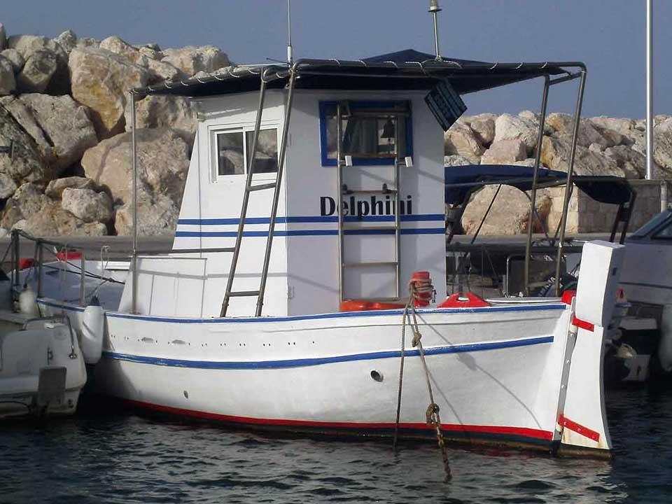 delphini fishing boat for sale - cyprus boat sales, Latchi Marine Services