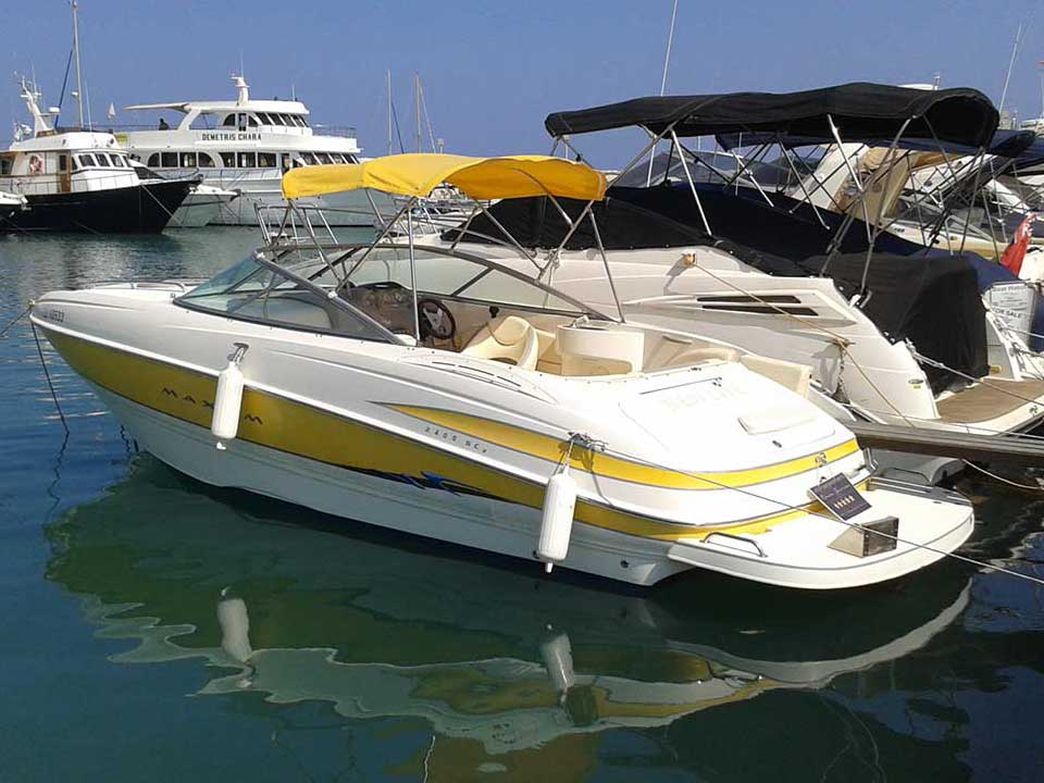 MAXUM 2400 SC3 2007 - Cyprus Boat Sales, Latchi Watersports Centre