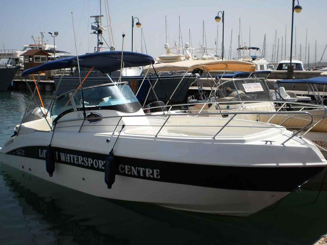 Ras Putin 200hp 2011 latchi boat sales cyprus
