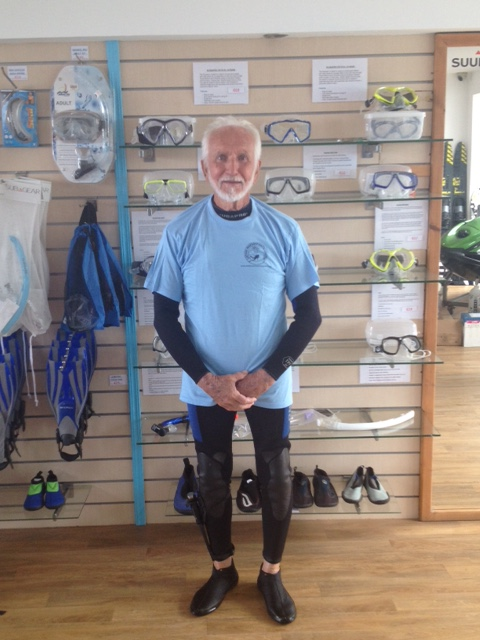 Ray Wooley at Latchi Watersports Centre