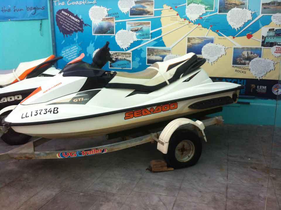 Seadoo GTI Jetski 130hp Cyprus Boat Sales Latchi Marine Services