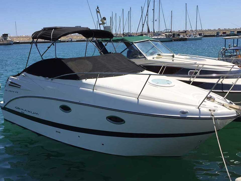 Maxum 2500 SE For Sale   Latchi Marine Services