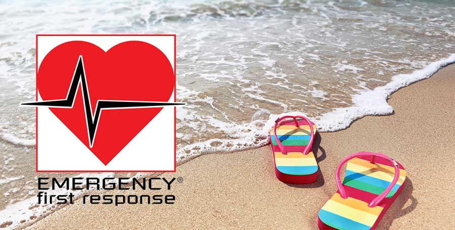 Emergency First Response first aid course - Latchi Watersports Centre, Cyprus