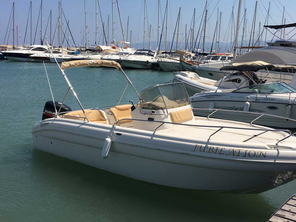 Ranieri Shadow 26 250hp 2010 - Cyprus Boat Sales