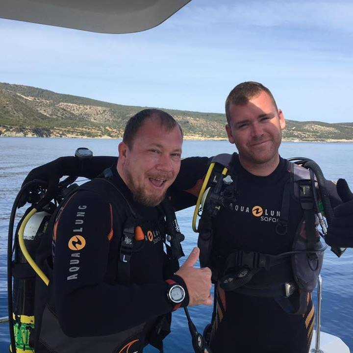 Dive Master Certification - Arne J Wood, Latchi Dive Centre, Cyprus
