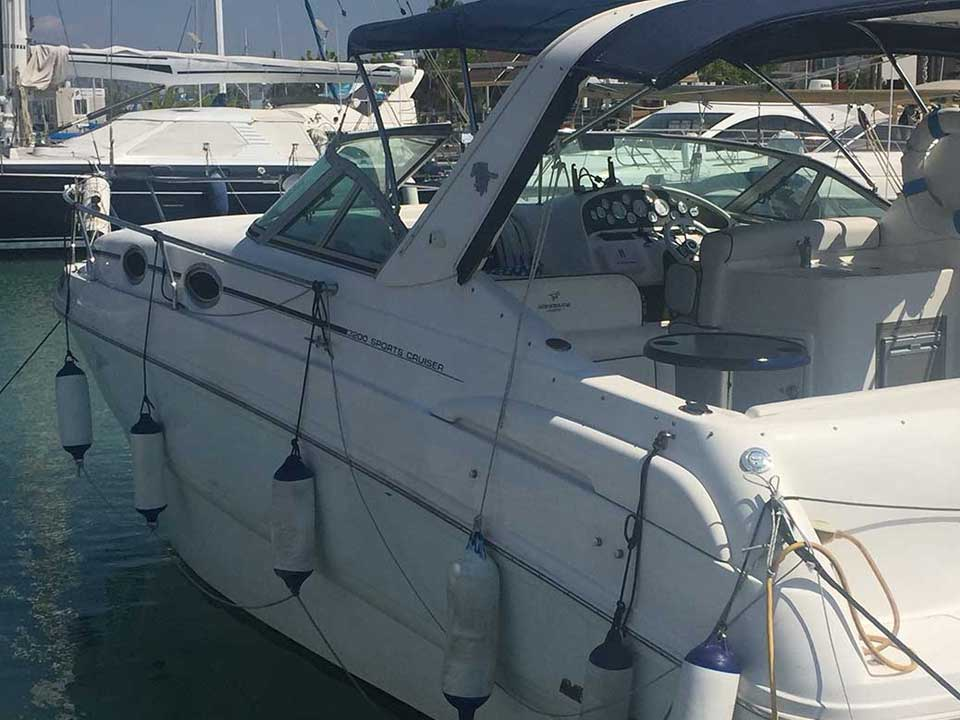 Mustang 3200 Sports Cruiser For Sale | Latchi Marine Services
