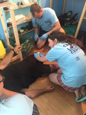 Interns, EFR - Emergency First Response, Rescue Diver Course
