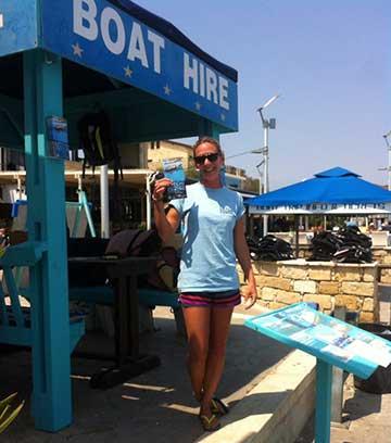 Katie Felvus - Latchi Watersports Centre, Cyprus