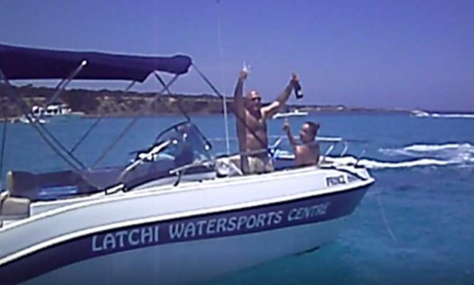 We tie more than boat knots - Latchi Watersports Centre, Cyprus