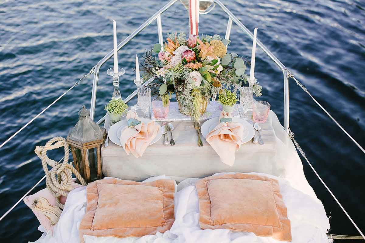 Latchi Wedding - Latchi Charters Cyprus