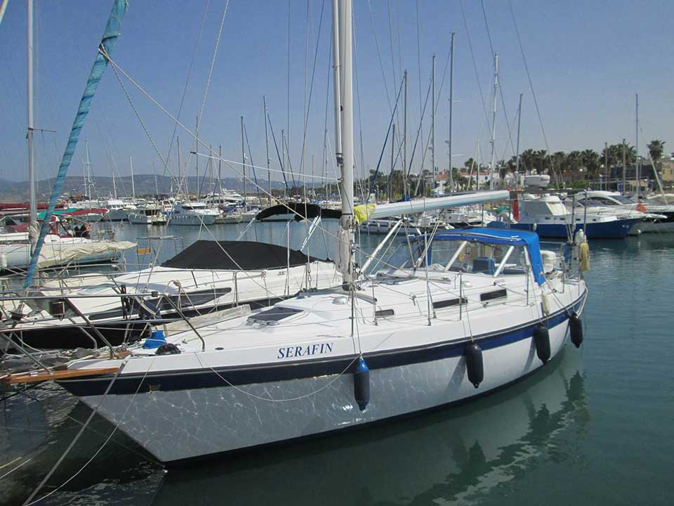 Finsailer 34 For Sale | Latchi Marine Services