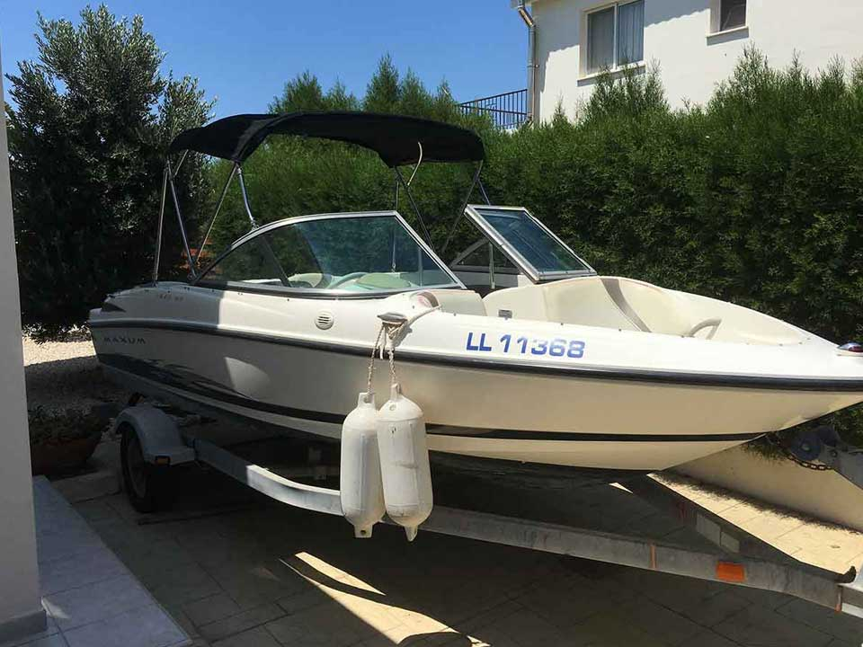 maxum mx1800 For Sale | Latchi Marine Services