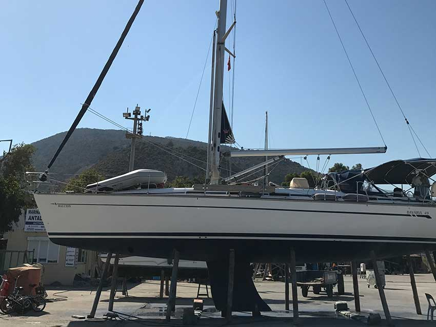 Bavaria 49 Sailboat For Sale | Latchi Marine Services