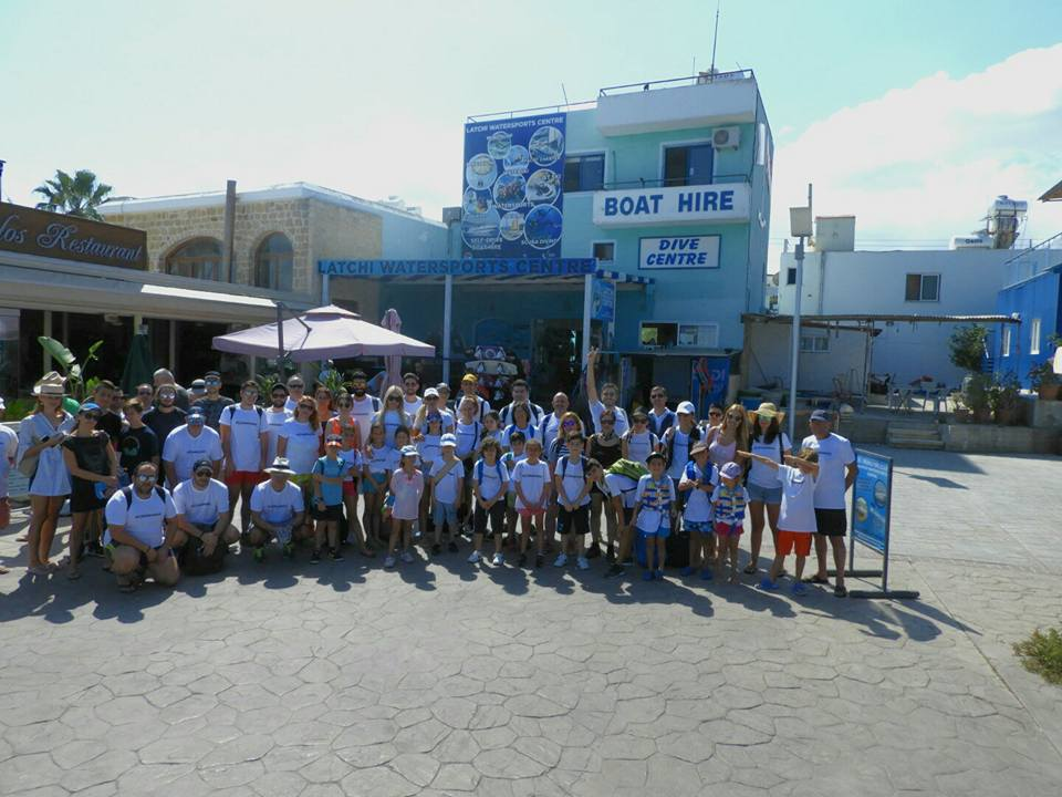 #cleanakamas latchi watersports centre, SPP Media, Love FM Cyprus