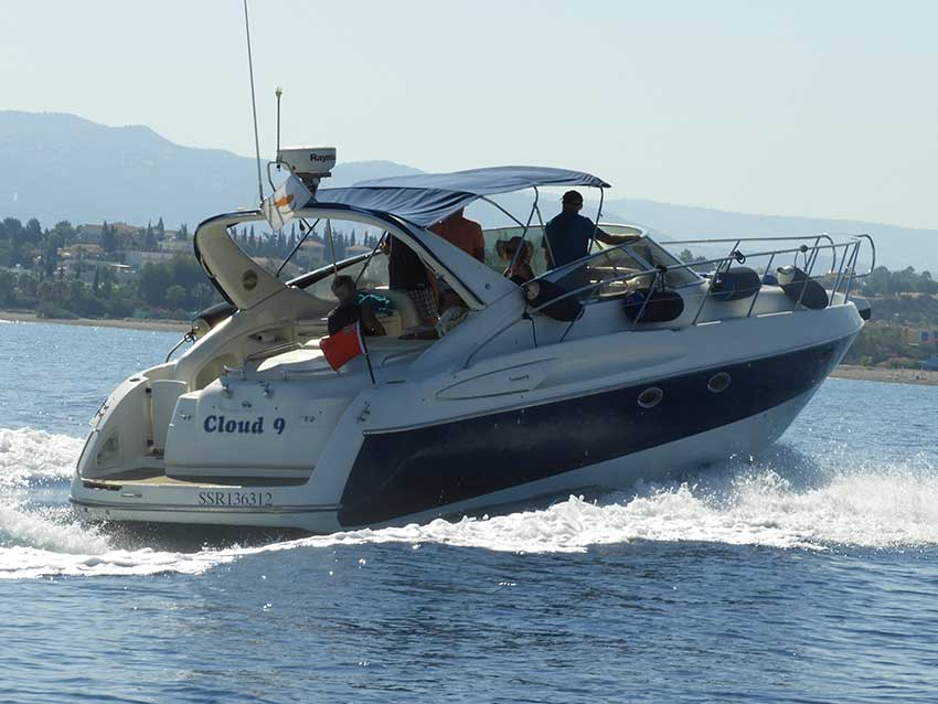 Cranchi Cruiser 12.4m for Sale, Latchi Marine Services