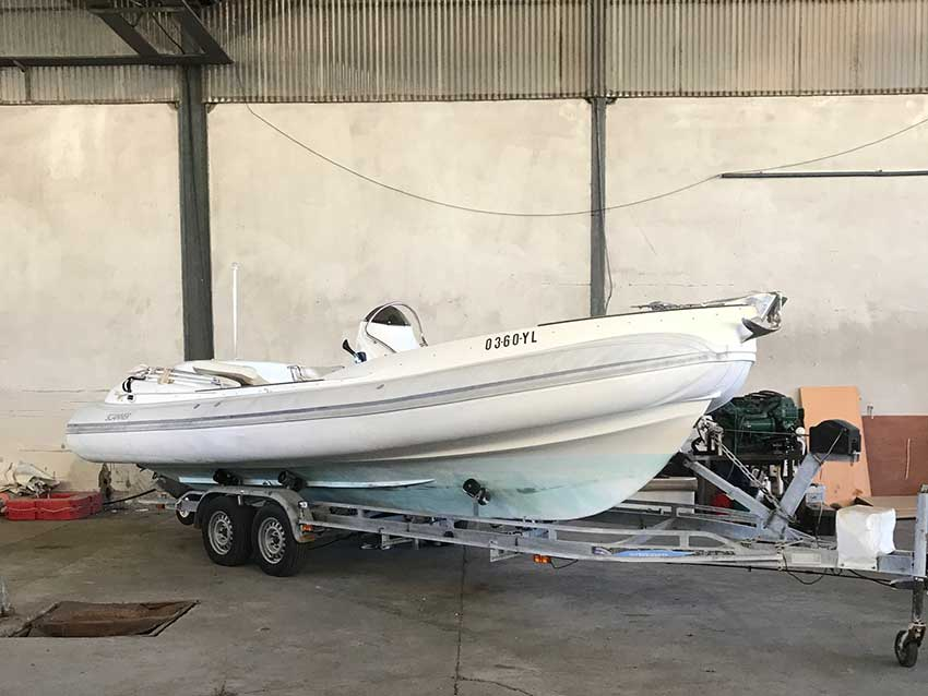 Scanner Envy 710 for sale Latchi Marine Services