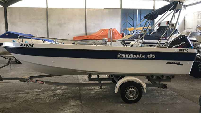 Amathunta 180 75hp for Sale, Latchi Marine Services