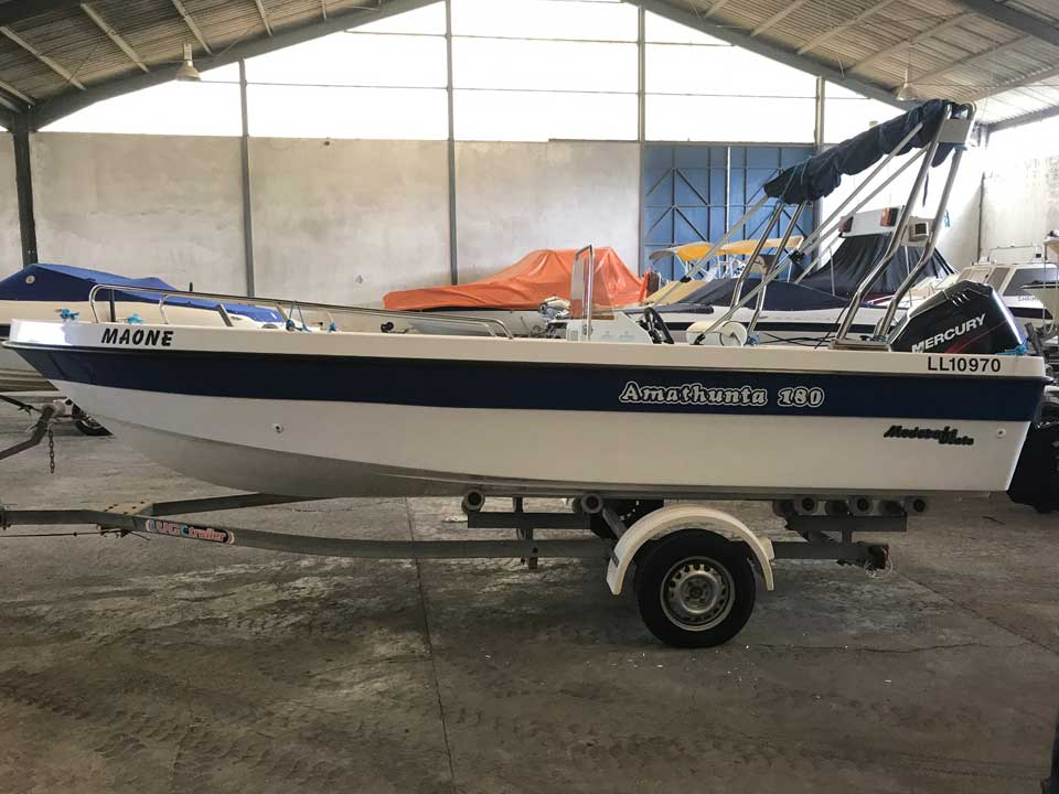 Amathunta 180 75hp For Sale | Latchi Marine Services