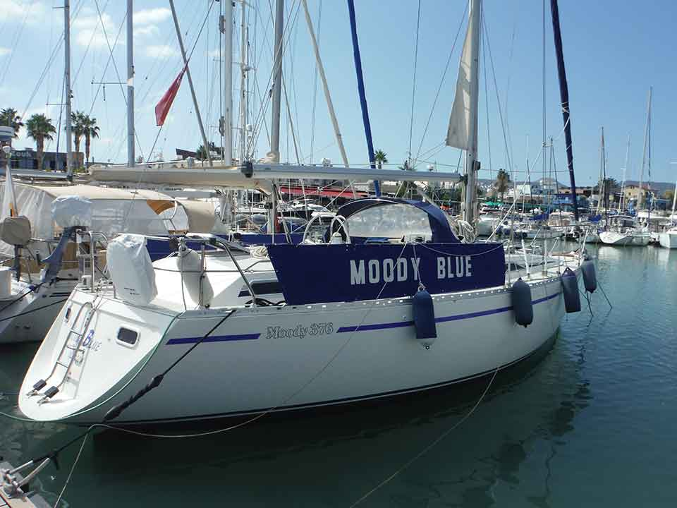 Moody 376 Sailboat For Sale | Latchi Marine Services